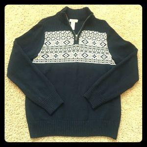 Navy Dockers sweater